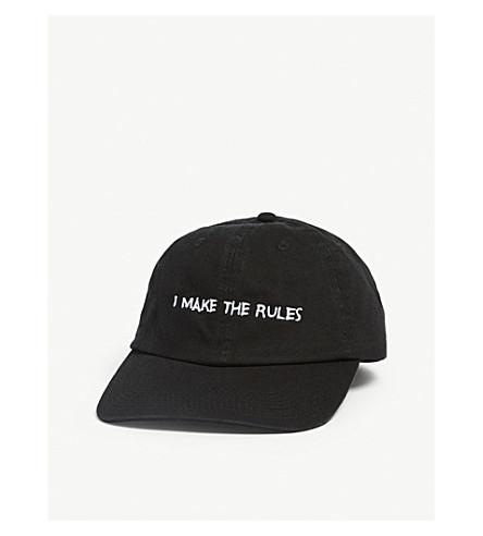 0d6cbb37a74c NASASEASONS - I Make The Rules cotton baseball cap