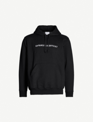NASASEASONS Logo-embroidered cotton-jersey hoody