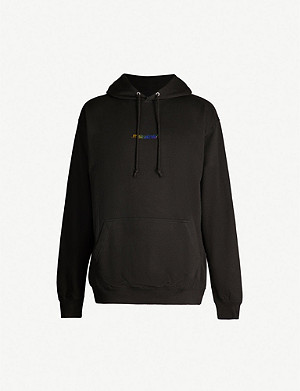 FAMT Narcissism cotton-blend hoody