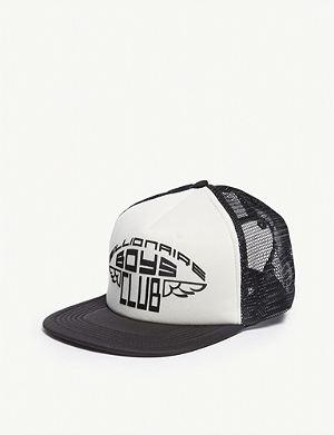 f9aea4c6eff BILLIONAIRE BOYS CLUB - Logo leopard-print trucker snapback cap ...