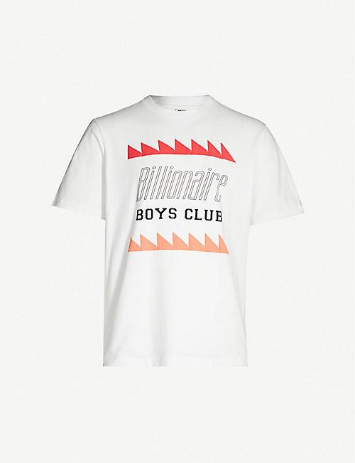 a1cf936a5b BILLIONAIRE BOYS CLUB Graphic-print crewneck cotton T-shirt