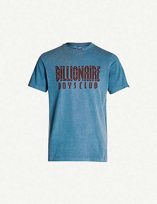 e7763be8ee2 BILLIONAIRE BOYS CLUB Logo-print crewneck cotton T-shirt