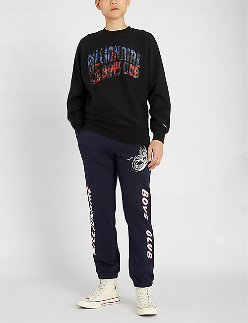 BILLIONAIRE BOYS CLUB Horsepower logo cotton-jersey sweatshirt