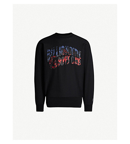 afcfd1ac0bf3 BILLIONAIRE BOYS CLUB - Horsepower logo cotton-jersey sweatshirt ...