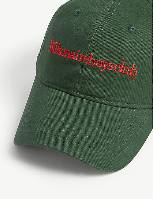 BILLIONAIRE BOYS CLUB Logo cotton baseball cap
