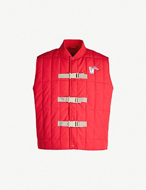 BILLIONAIRE BOYS CLUB Buckle-detail quilted vest
