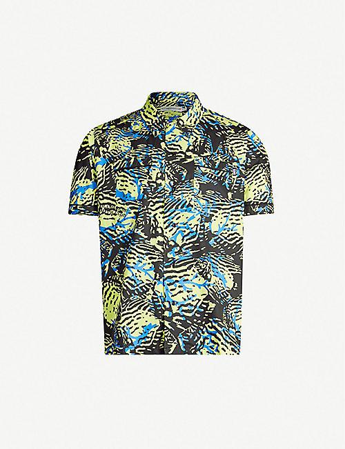 c7628283406f BILLIONAIRE BOYS CLUB Camouflage-print regular-fit cotton shirt