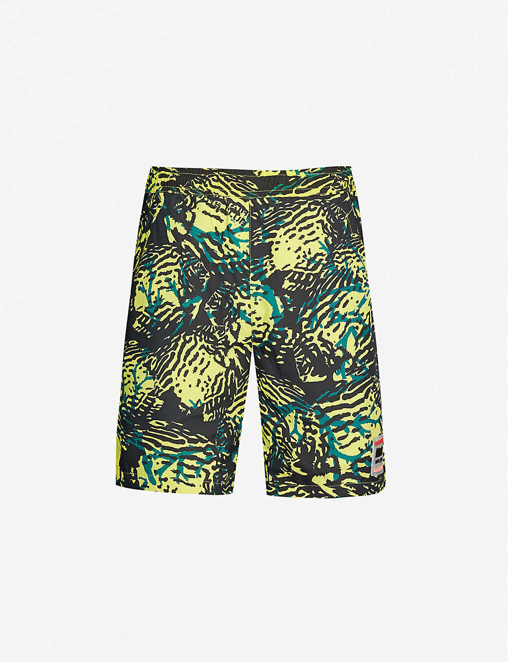 333fa0aad3015 BILLIONAIRE BOYS CLUB - Fish camouflage-print shell shorts ...