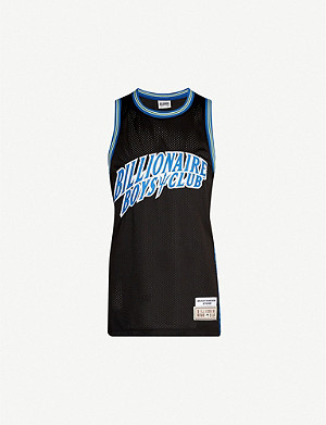 BILLIONAIRE BOYS CLUB徽标贴花网背心