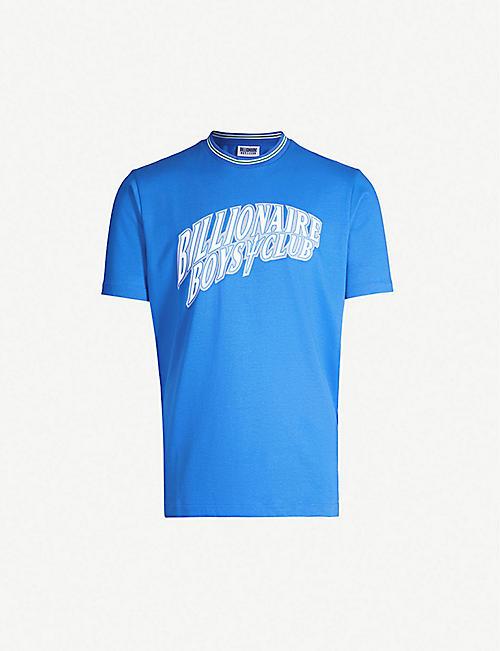bf884d81 BILLIONAIRE BOYS CLUB Graphic-print cotton-jersey T-shirt