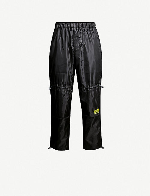 e1c78f889 BILLIONAIRE BOYS CLUB Relaxed-fit shell jogging bottoms