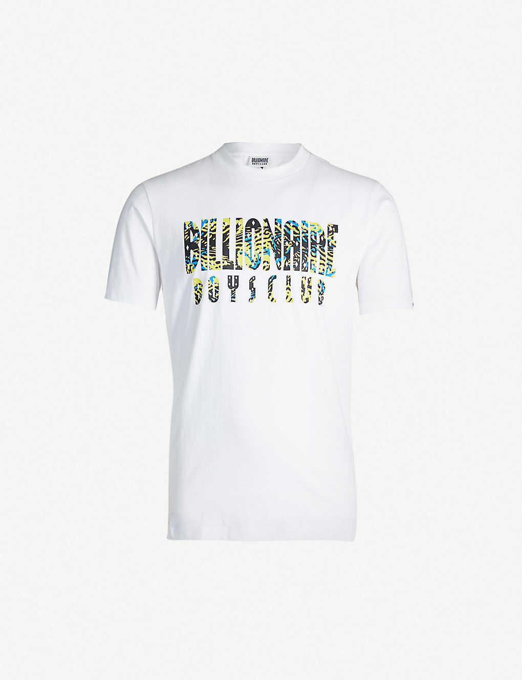 a978dfc47 BILLIONAIRE BOYS CLUB - Logo-print cotton-jersey T-shirt ...