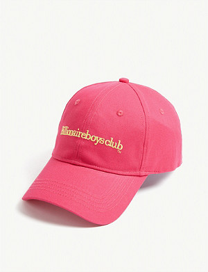 BILLIONAIRE BOYS CLUB Embroidered cotton cap