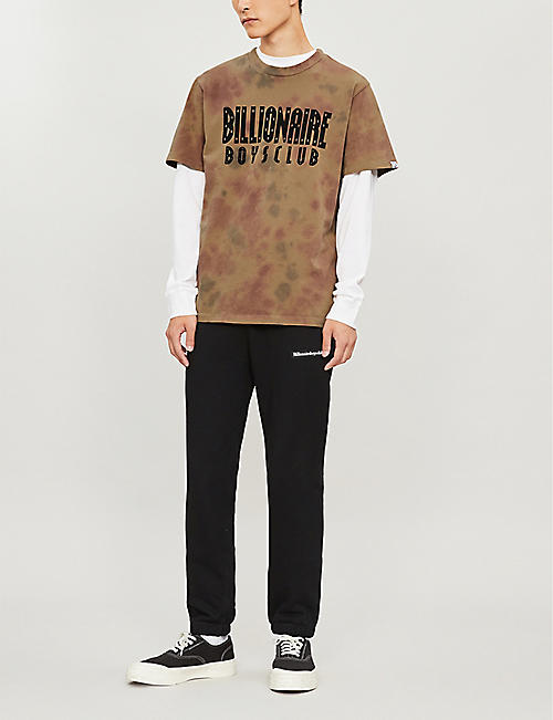 BILLIONAIRE BOYS CLUB Camouflage-print cotton T-shirt