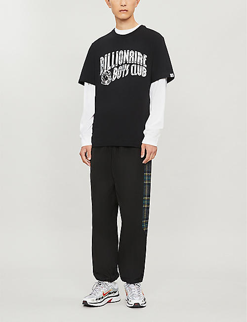 BILLIONAIRE BOYS CLUB Metallic-logo cotton T-shirt
