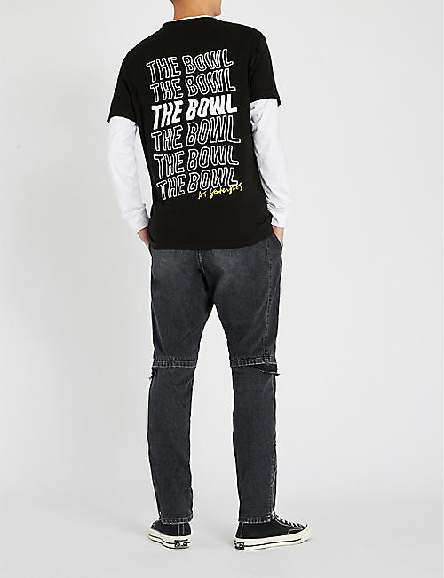 The Bowl Logo-print cotton-jersey T-shirt