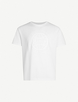 MCQ ALEXANDER MCQUEEN Circle graphic-print cotton-jersey T-shirt