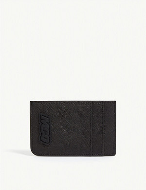 MCQ ALEXANDER MCQUEEN Rubber logo card holder