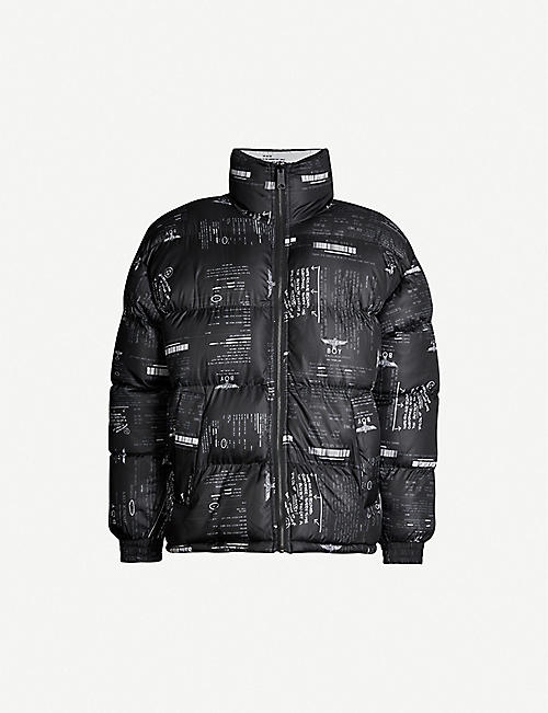 BOY LONDON Reversible padded shell jacket