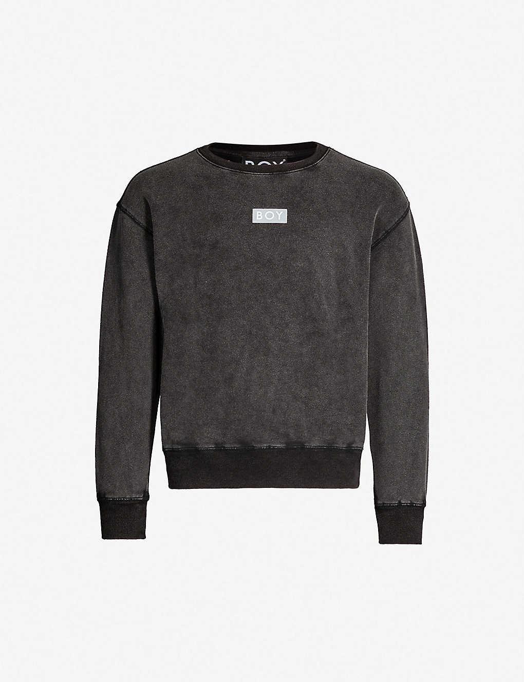 a3ab31ec6 BOY LONDON - Glitch cotton-jersey sweatshirt   Selfridges.com