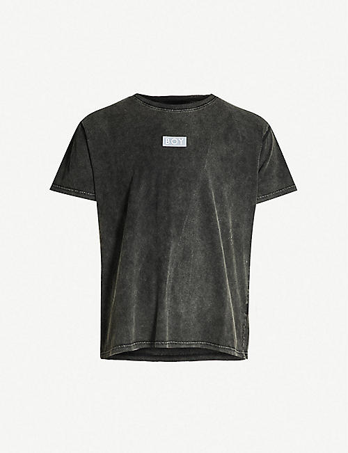 325da3b70686 BOY LONDON Glitch cotton-jersey T-shirt