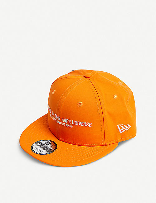 AAPE AAPE x New Era ribstop patched baseball cap e27a06004162