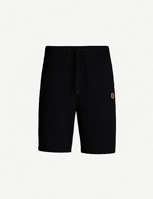 FINGERCROXX Bigfoot logo slim-fit cotton-blend shorts