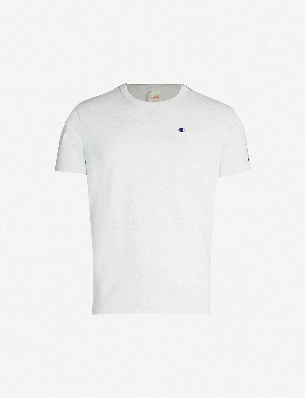 CHAMPION: Mini logo-embroidered cotton-jersey T-shirt