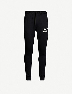 PUMA Iconic T7 jersey jogging bottoms