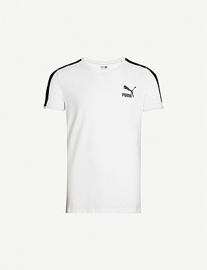 PUMA Iconic T7 slim-fit stretch-jersey T-shirt