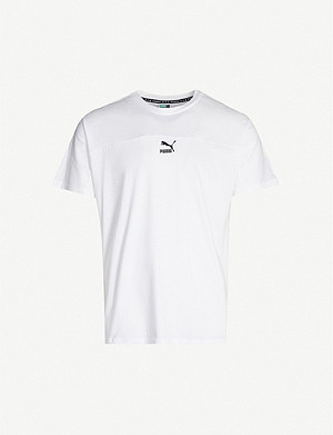 PUMA XTG branded cotton-jersey T-shirt