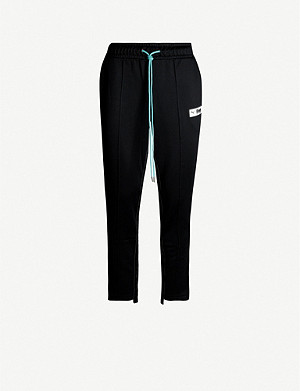 PUMA Puma x Rhude drawstring-waistband tapered cotton-jersey jogging bottoms
