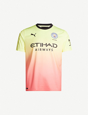 PUMA Manchester City jersey away football top