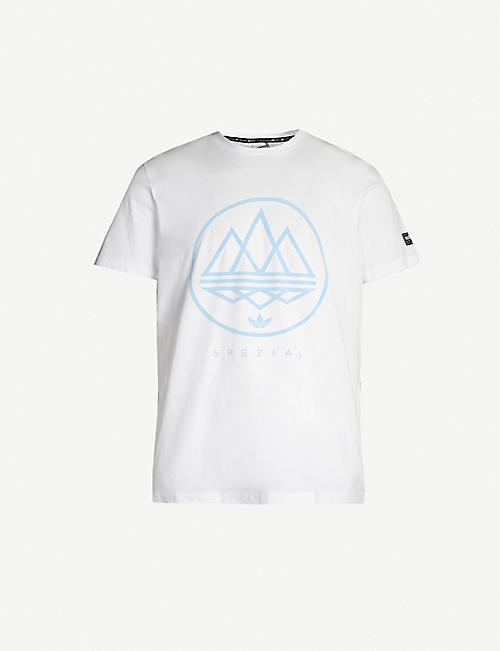 335eef3d ADIDAS Mod Trefoil brand-patch cotton-jersey T-shirt