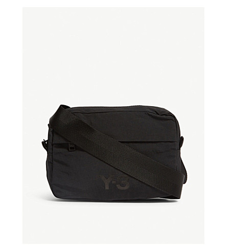 Y3 - Multi pocket nylon cross-body bag  6dc1c5d1130cf