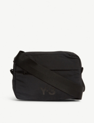 Y3 Multi pocket nylon cross-body bag