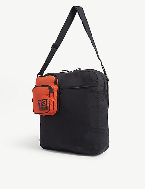 Y3 Airliner cross-body bag