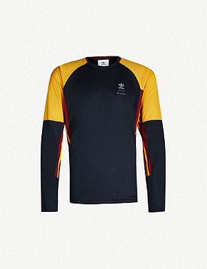 ADIDAS adidas x BED j.w. FORD colour-blocked jersey top