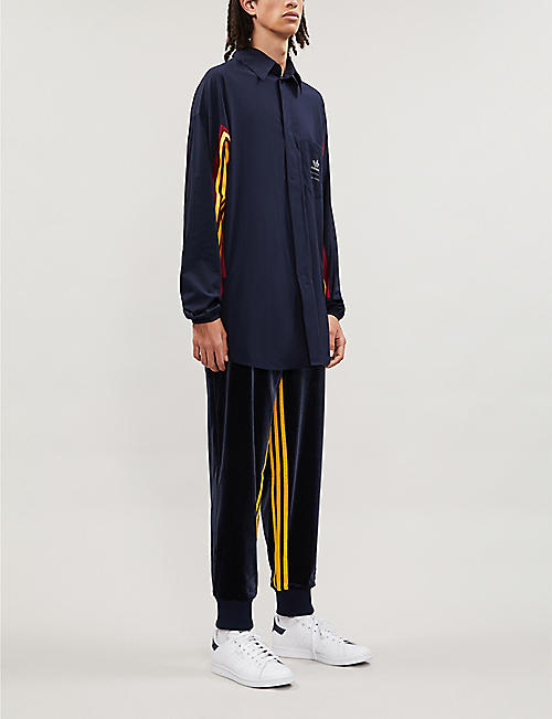 ADIDAS adidas x BED j.w. FORD colour-blocked jersey jogging bottoms