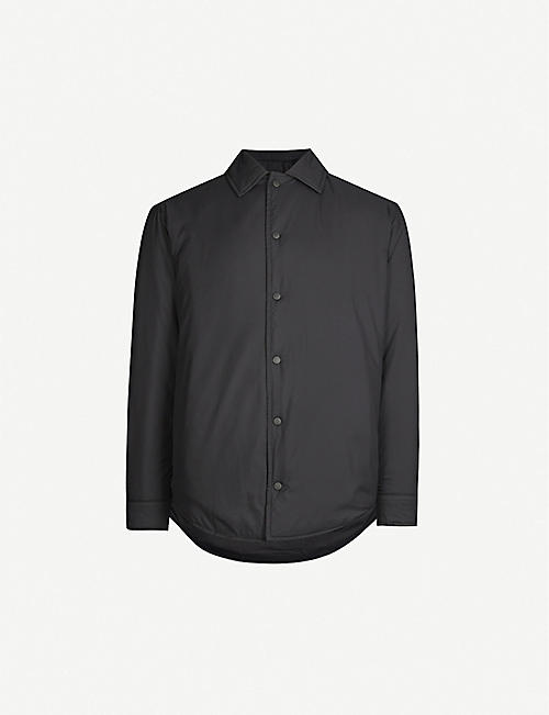 Y3 Adizero padded shell overshirt