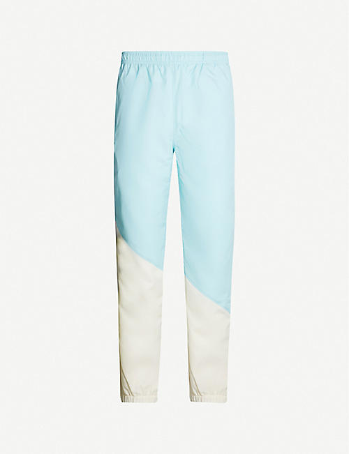 LACOSTE Lacoste x GOLF le FLEUR relaxed-fit straight shell tracksuit bottoms