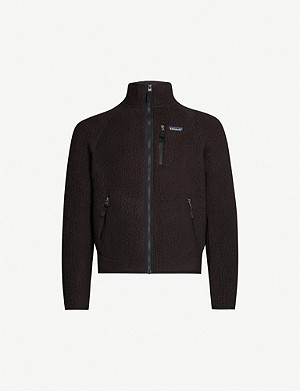 PATAGONIA Retro Pile funnel-neck fleece jacket