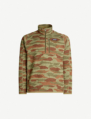 PATAGONIA Better camo-print recycled-polyester jumper