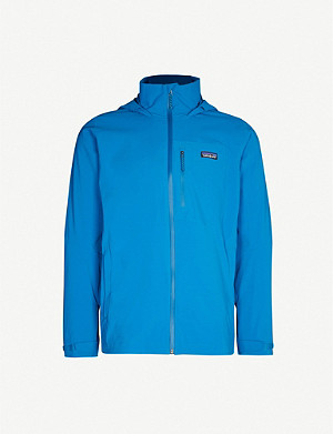 PATAGONIA Quandary funnel-neck hooded shell jacket