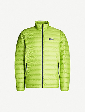 PATAGONIA Funnel-neck shell-down jacket