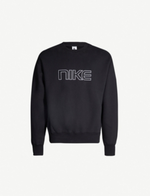 NIKE NRG logo-appliqué cotton-blend sweatshirt