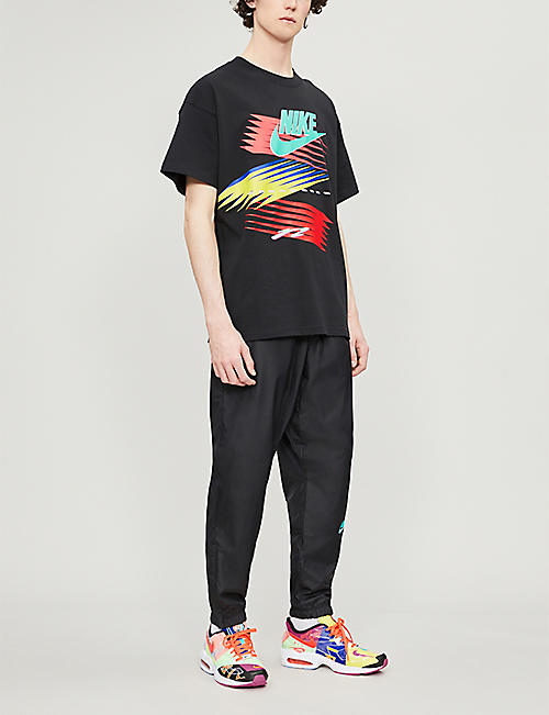 NIKE Nike x Atmos graphic-print cotton-jersey T-shirt