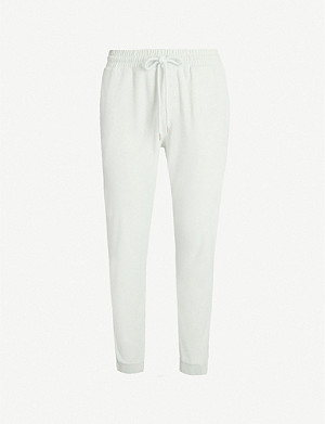 PREVU Astor towelling terry-cotton jogging bottoms
