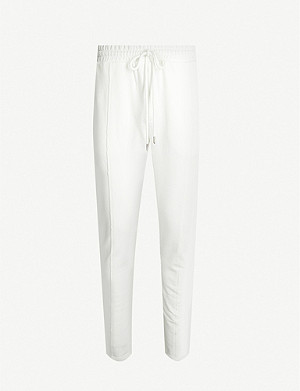 PREVU Core Luxe cotton-jersey jogging bottoms