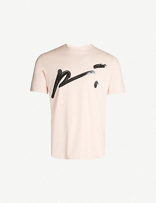 PREVU Logo-print cotton T-shirt